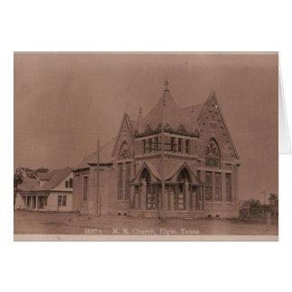 M.E. Church, ELGIN, TX in 1911 Card