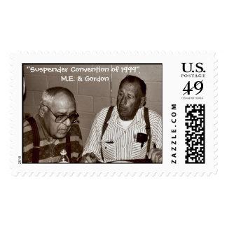 M.E. Haze & Gordon Hoffman Stamp