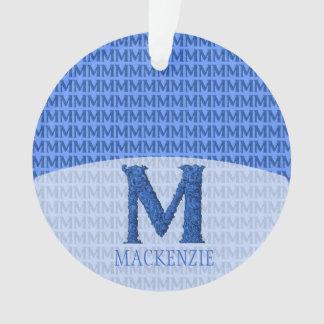 M - El alfabeto de Falck (azul)