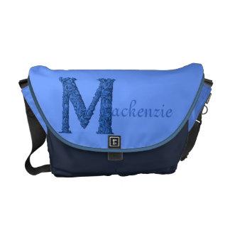 M - El alfabeto de Falck (azul) Bolsas Messenger