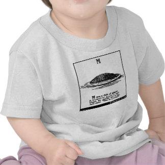 M era un plato de pica camiseta