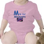 M está para las mitocondrias trajes de bebé