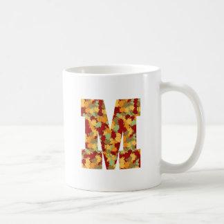 M está para Maine - edición del otoño Taza