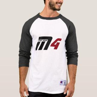 M Four Sport Wear Graphic Baseball Tee