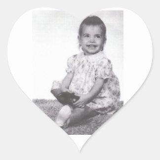 M. Green circa 1968 Heart Sticker