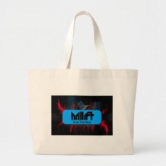 M I A - Drop That Beat Cover Art Canvas Bags