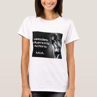 M.I.A. - Music Influencing Actions Tour Wear T-Shirt