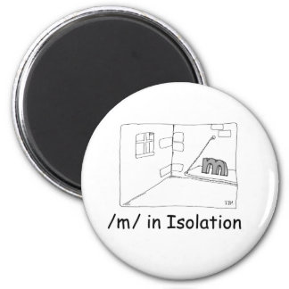M In Isolation Magnet