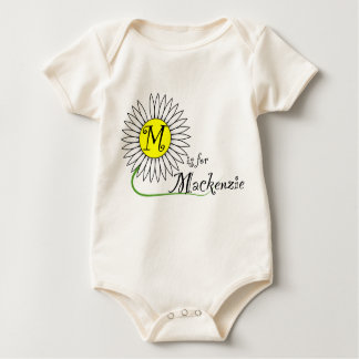 M is for Mackenzie Daisy Romper