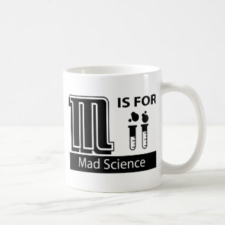 M Is For Mad Science Mugs