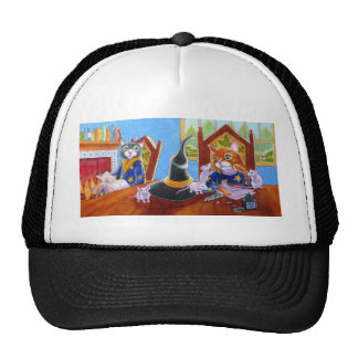 M is for Magic Cats Trucker Hat