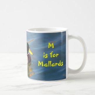 M is for Mallard - mug