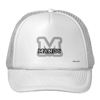 M is for Mandy Trucker Hat