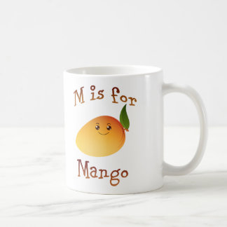 M is for Mango Coffee Mug