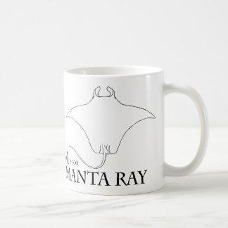 M is for Manta Ray mug