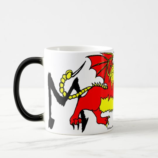 M is for Mantichora Magic Mug