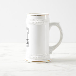 M is for Marlon 18 Oz Beer Stein