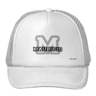 M is for Mauricio Trucker Hats
