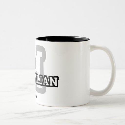 M is for Maximilian Two-Tone Coffee Mug