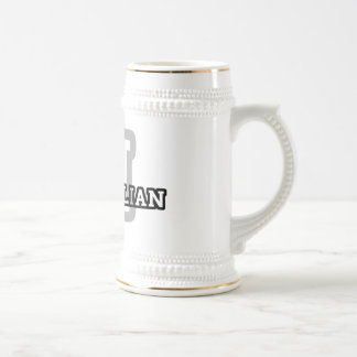 M is for Maximillian 18 Oz Beer Stein