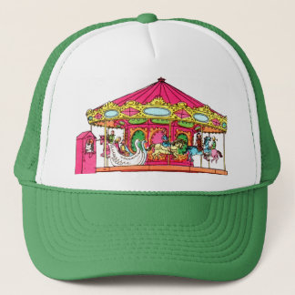 'M' is for Merry Go Round Trucker Hat