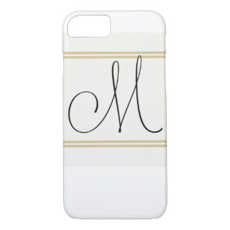 M is for Mighty Fine, Iphone Monogram iPhone 8/7 Case