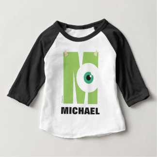 M is for Mike   Add Your Name Baby T-Shirt