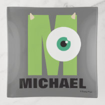 M is for Mike | Add Your Name Trinket Trays