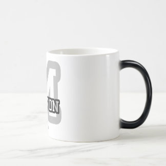 M is for Milton 11 Oz Magic Heat Color-Changing Coffee Mug