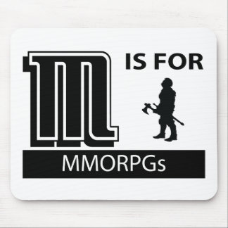M Is For MMORPGs Mouse Mat