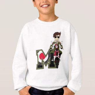 M is for Mod Sweatshirt