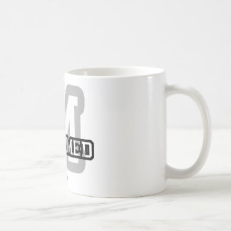 M is for Mohamed Classic White Coffee Mug