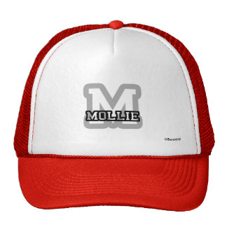 M is for Mollie Trucker Hat