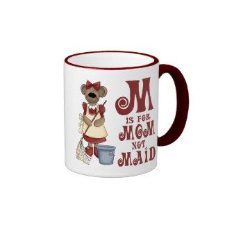 M is for Mom Coffee Mugs