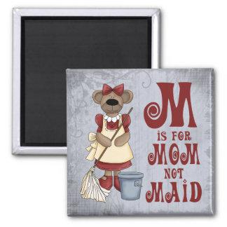M is for Mom Fridge Magnets