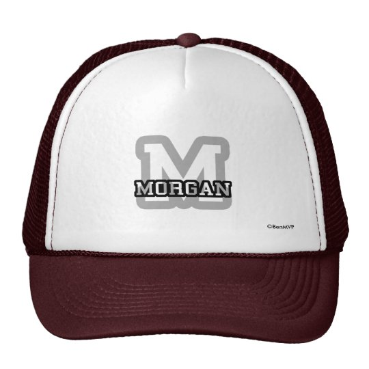 M is for Morgan Trucker Hat
