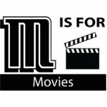 M Is For Movies Cut Out