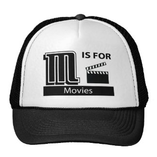 M Is For Movies Trucker Hats