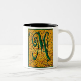 M is for... Two-Tone coffee mug
