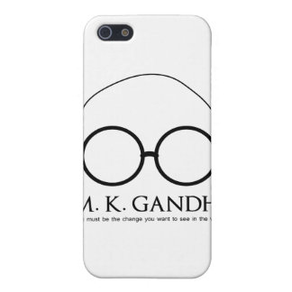 M. K. Gandhi - Be the Change Cover For iPhone SE/5/5s