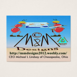 M & M Deisgns BIZ card 3
