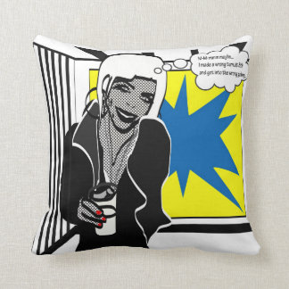 M-m-m maybe the wrong gallery pillow