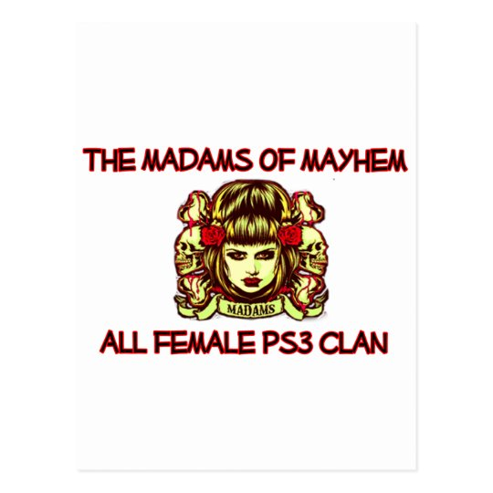 M|M POSTCARD