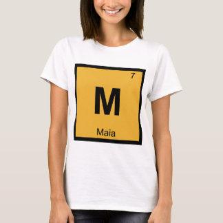 M - Maia Pleiades Chemistry Periodic Table T-Shirt