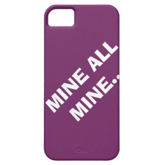 M_MINE ALL MINE... iPhone SE/5/5s CASE