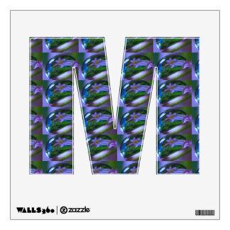m mmm ALPHA DEW BUBBLE : FLOWER BIRTHDAY WALL POST Wall Sticker