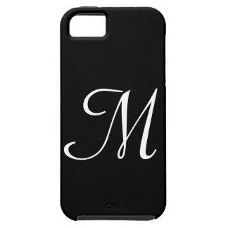 M Monogram Black IPhone 5 Case