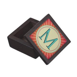 M MONOGRAM LETTER PREMIUM GIFT BOXES