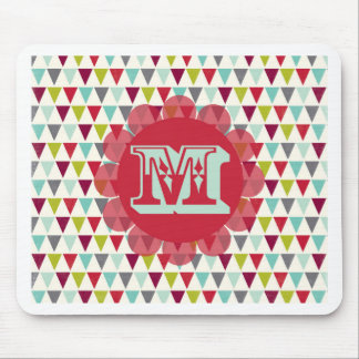 M Monogram Mouse Pad