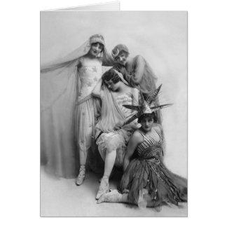 M.Morris, F.Cripps, K.Laurell, F.White Tarjeta De Felicitación
